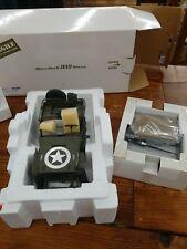 Danbury Mint Wwii Jeep 1/16Th Scale Undisplayed In Box!