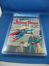 SUPERMAN PAL JIMMY OLSEN 19 CGC 7.5 VF- 1957 SUPERMANS KID BROTHER