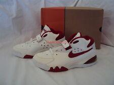 ORIGINALE Nike Air Force Max B WHITE RED CB 34 Barkley 624021-161 gr:9, 5/43 NUOVO