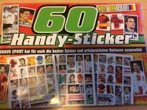 Handy Sticker Fussballspieler
