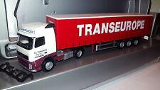 herpa VOLVO FH---TRANSEUROPE OUDENBURG BELGIUM..--- Tautliner.--  Werbemodell
