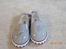 Boys Gymboree Shark Tennis Shoes New Size 7