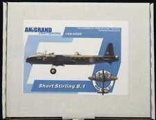 Anigrand Models 1/144 SHORT STIRLING B.1 British WWII Heavy Bomber