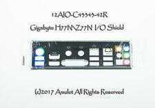 Original I/O IO Shield Backplate Gigabyte GA-H77N-Wifi Z77N-Wifi MOTHERBOARD
