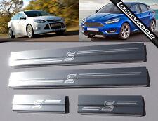 Ford Focus Mk3 Zetec S (released 2011) 4 Door Sill Protectors