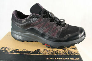 Salomon Xa Discovery GTX Trainers Low Shoes Sneakers Running Shoes Black New