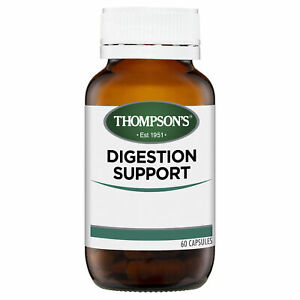 Thompson's Digestion Manager 60 Capsules Healthy Digestive Function Supplement
