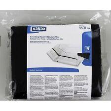 Xavax Fleece Activated Active Flat Carbon Filter for Cooker Hoods Extractor x2
