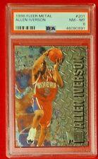 Allen Iverson 1996 Fleer Metal Rookie RC PSA 8 NMT HOF!