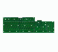 New Premium Hard Keyboard Membrane PCB Amiga 500 1200 Green Replacement #744
