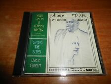 WILLIE DIXON & JOHNNY WINTER Crying the blues LIVE IN CONCERT CD ALBUM 1995 UK
