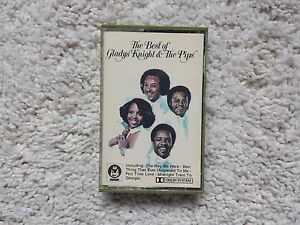 The Best Of Gladys knight & the Pips cassette tape zcbdc5013  EX+ Condition