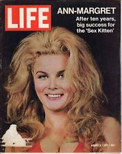 LIFE Aug 6 1971 Ann-Margret, F-14, General Patton, Elephants, Hurlers Disease