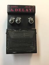 DRS AN-70 Stereo Analog Delay Echo Rare Vintage Guitar Effect Pedal
