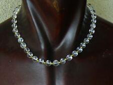 (eVB959) Beautifull Gemstone Natural Rock Quartz Necklace