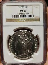1879-S Morgan Dollar MS-63 NGC SKU #4520