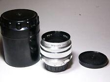 Mir-1 2.8/37mm Grand Prix Brussels 1958 lens #6602942 M39/M42 Russ Flektogon 1B