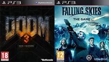 doom 3 bfg edition  USED       &      falling skies the game  NEW+SEALED