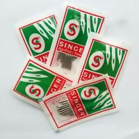 50 needles Singer Sewing Machine Needles, 2020 size #9, 11, 14, 16,18