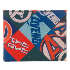 Marvel Avengers Sublimated Bi-Fold Wallet NEW Accessories Captain America Hulk
