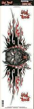 "New Lethal Threat Pit Bull Attack Decal Sticker 3""x10"" Lt00406"