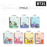 BTS BT21 Official Authentic Goods PP Cover Note 7SET by Kumhong Fancy + Track #