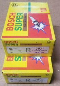 Bosch Super 7571 HR8DCX 0242229559076 Spark Plug - Make offer for more than 1!
