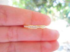 .30 Carat Diamond Yellow Gold Half Eternity Ring 9k codeHE11 sepvergara
