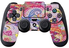Funky Design Pink Blue For PS4 DualShock4 Controller Vinyl Decal Sticker Skin