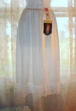 "NWT Vassarette Lace Half Slip 11105 White Ice  26"" waist Medium"