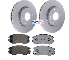 FOR HYUNDAI COUPE 2002-2010 1.6 2.0 2.7 FRONT BRAKE DISCS & PADS SET 280MM NEW
