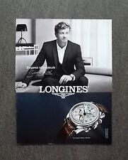 H615 - Advertising Pubblicità -2013- LONGINES , SIMON BAKER