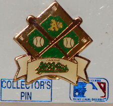 OAKLAND A's Athletics Diamond Crossed Bats Officially Licensed Hat / Lapel Pin