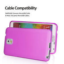 Premium Silicone [PINK] Back Case Flexible for Samsung Galaxy Note 3 N9000