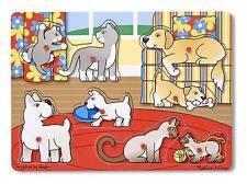 Melissa & Doug Pets Peg Puzzle - 8 Pieces (New) 1872
