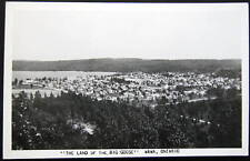 CANADA~1940's WAWA ONT~LAND OF THE BIG GOOSE ~ RPPC