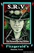 Stevie Ray Vaughan Poster  by Cadillac Johnson 12  18 in.