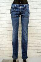 DIESEL Jeans Denim Donna Taglia 28 42 Pantalone Vita Bassa Pants Women's Italy