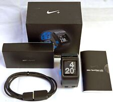 NEW Nike+ Plus GPS Sport Watch Blue/Anthracite TomTom Powered fitness runner