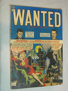 Wanted #23 G/VG The killer is out there LOOK