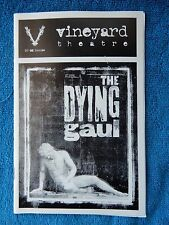 The Dying Gaul - Vineyard Theatre Playbill w/Ticket - September 23rd, 1998