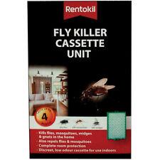 Rentokil Fly Killer Cassette Kills Flies Mosquitoes Moth Lasts Up to 4 Months