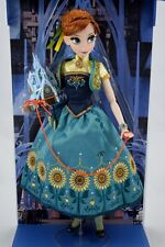 "New Disney Store Limited Edition Frozen Fever Anna Doll 17"" LE"