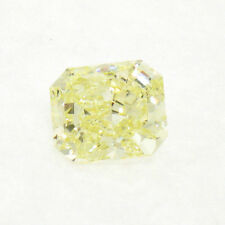 GIA Certified 2.55 Carat Natural Fancy Yellow Radiant Cut Diamond VS1 Clarity