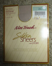 Sears Nice Touch Silken Sheers Pantyhose Tall  Driftwood