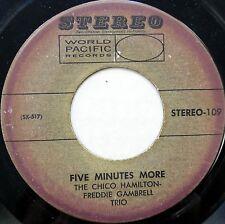 THE CHICO HAMILTON - FREDDIE GAMBRELL TRIO 45 Five Minutes More 1958 JAZZ D470