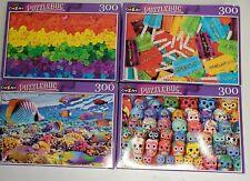 Cra-Z-Art 300- Piece Jigsaw Puzzles PuzzleBug Series Lot of 4!