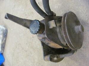 71 72 Chevrolet Chevy Truck C10 Blazer Power Steering Pump & Brackets 6272729