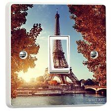 París Torre Eiffel Individual Cubierta De Interruptor De Luz Pegatina De Vinilo