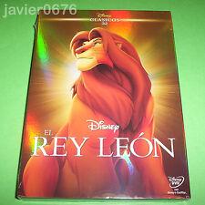 EL REY LEON CLASICO DISNEY NUMERO 32 - DVD NUEVO Y PRECINTADO SLIPCOVER